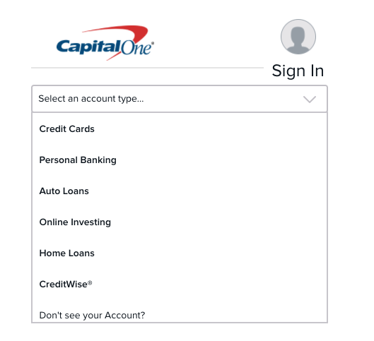 capital sign loan banking credit login capitalone loans personal activate cards